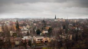 Ville frontalière photo libre de droits
