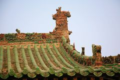 Ville God& x27 ; temple de s, Henan, Luoyang photos stock