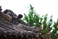 Ville God& x27 ; temple de s, Zhengzhou photo stock