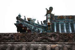 Ville God& x27 ; temple de s, Zhengzhou images libres de droits