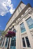 Ville hôtel à Rockford Photographie stock libre de droits