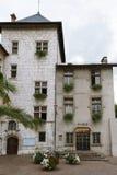 Ville hôtel dans les Frances, Aix-les-Bains Images stock