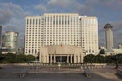 Ville hôtel de Changhaï image libre de droits