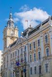 Ville hôtel de Cluj-Napoca en Roumanie Construit à la fin du 19ème siècle photographie stock