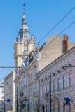Ville hôtel de Cluj-Napoca en Roumanie Construit à la fin du 19ème siècle images libres de droits