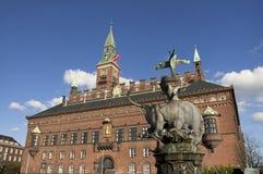 Ville hôtel de Copenhague photos libres de droits