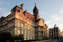 Ville hôtel de Montréal Photos libres de droits