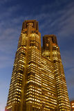 Ville hôtel de Tokyo Photos stock