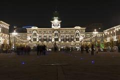 Ville hôtel de Trieste images stock