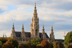 Ville hôtel de Vienne photo libre de droits