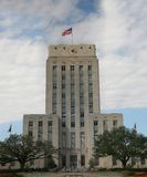 Ville hôtel grande et grande de Houston Photo libre de droits