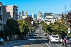 Ville hôtel, la Californie de San Francisco Image libre de droits