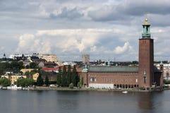 Ville hôtel Stockholm Photos stock