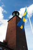 Ville hôtel Stockholm Images libres de droits