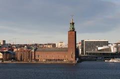 Ville hôtel Stockholm Photo libre de droits