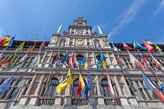 Ville hôtel à Anvers, Belgique photographie stock libre de droits