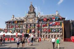 Ville hôtel à Anvers, Belgique photos stock