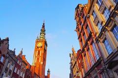 Ville hôtel à Danzig, Pologne photographie stock libre de droits