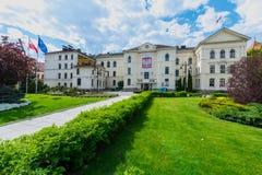 Ville hôtel dans Bydgoszcz Images stock