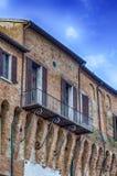 Ville hôtel dans la forteresse médiévale Images stock
