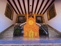 Ville hôtel dans Soller sur Majorca Images stock