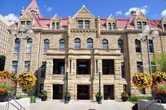 Ville hôtel de Calgary Images libres de droits