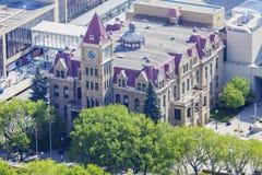 Ville hôtel de Calgary photos libres de droits
