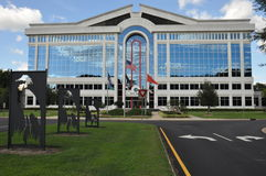 Ville hôtel de chesapeake en Virginie Photo stock
