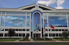 Ville hôtel de chesapeake en Virginie Image stock
