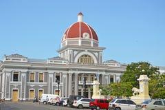 Ville hôtel de Cienfuegos photographie stock