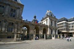 Ville hôtel de Lyon Image libre de droits
