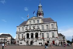 Ville hôtel de Maastricht Images libres de droits