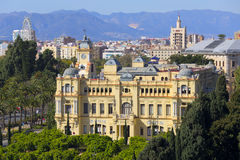 Ville hôtel de Malaga Image stock