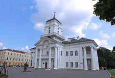 Ville hôtel de Minsk Photographie stock libre de droits