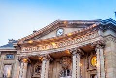 Ville hôtel de Paris pour le 5ème secteur Images libres de droits