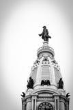 Ville hôtel de Philadelphie images libres de droits