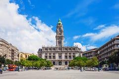 Ville hôtel de Porto Photographie stock