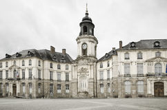 Ville hôtel de Rennes. Photo stock