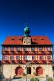 Ville hôtel de Staffelstein Photos stock