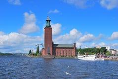 Ville hôtel de Stockholm Photo stock