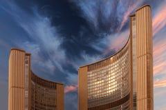 Ville hôtel de Toronto Image stock