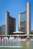Ville hôtel de Toronto Photographie stock libre de droits