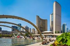 Ville hôtel de Toronto Image libre de droits