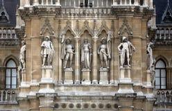 Ville hôtel de Vienne construisant Rathaus photographie stock