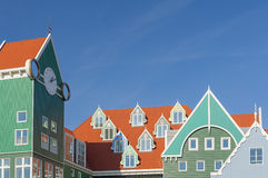 Ville hôtel de Zaandam Pays-Bas Image stock