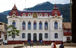 Ville hôtel de Zipaquira Photo stock