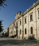 Ville hôtel du Reggio de Calabre Photo stock