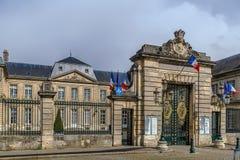 Ville hôtel, France de Soissons Image libre de droits