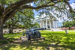 Ville hôtel historique dans Lake Charles Photos stock