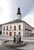 Ville hôtel - jesenik de ville Image libre de droits